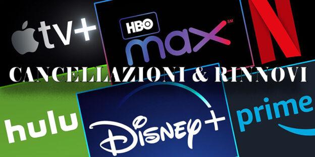 Stagione TV 2020-21: i rinnovi e le cancellazioni della TV via cavo e dello streaming